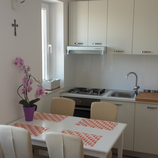 Kitchen, Beach apartment VAMI with sea view, Murter - Dalmacija, Holidays in Croatia Medulin