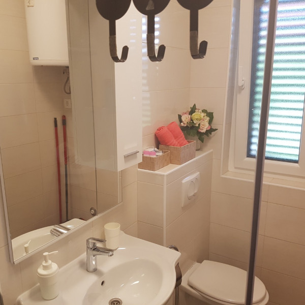 Bathroom / WC, Beach apartment VAMI with sea view, Murter - Dalmacija, Holidays in Croatia Medulin