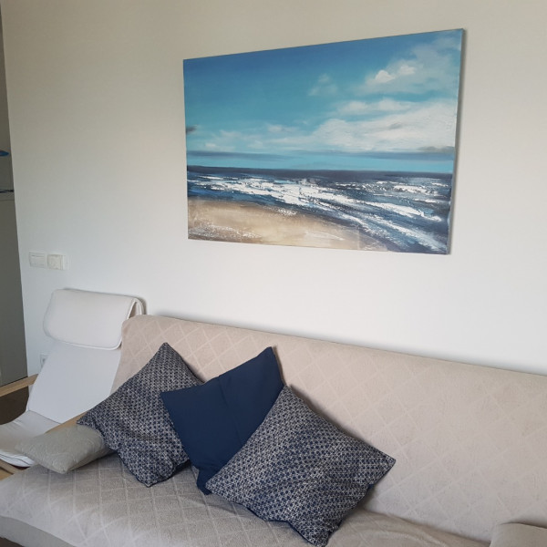 Living room, Beach apartment VAMI with sea view, Murter - Dalmacija, Holidays in Croatia Medulin